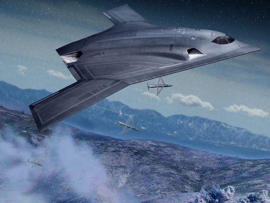 Northrop Grumman Long Range Strike Bomber concept LRSB