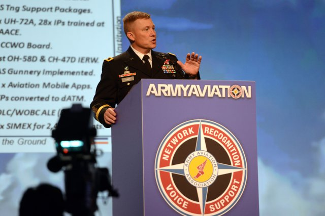 Maj. Gen. Michael Lundy Army Aviation