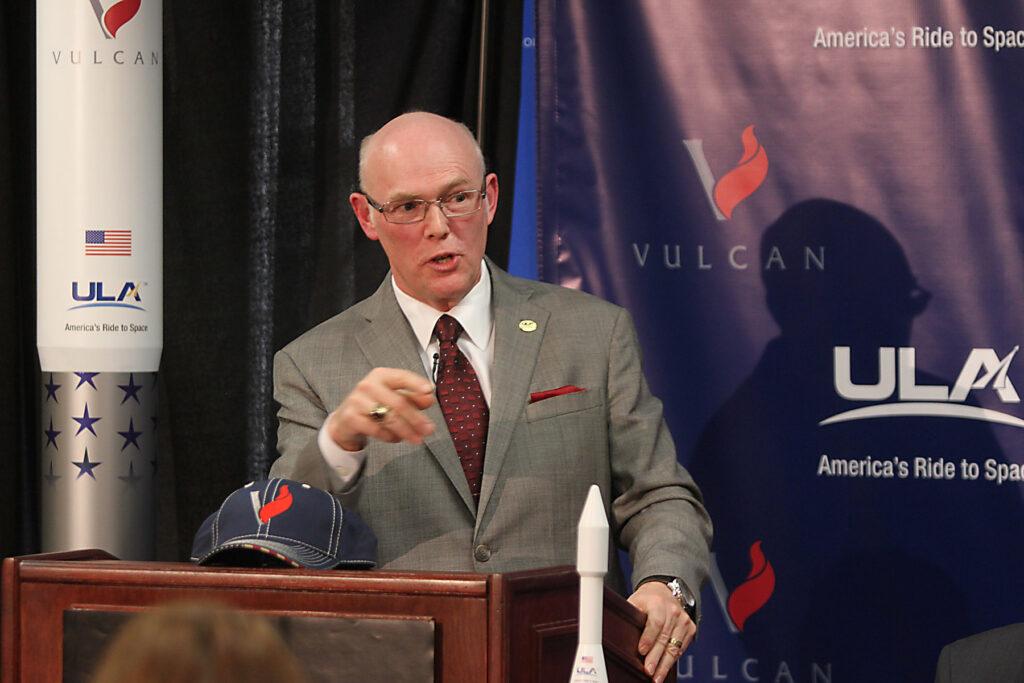 ULA CEO Tory Bruno Unveils Vulcan
