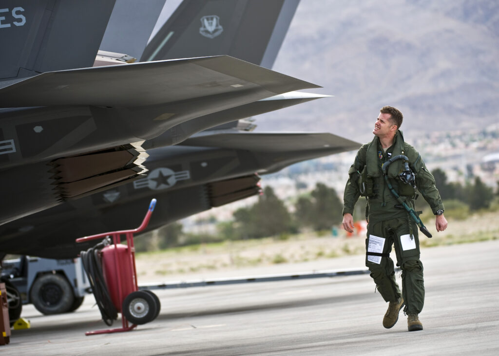 F-35As at Nellis.