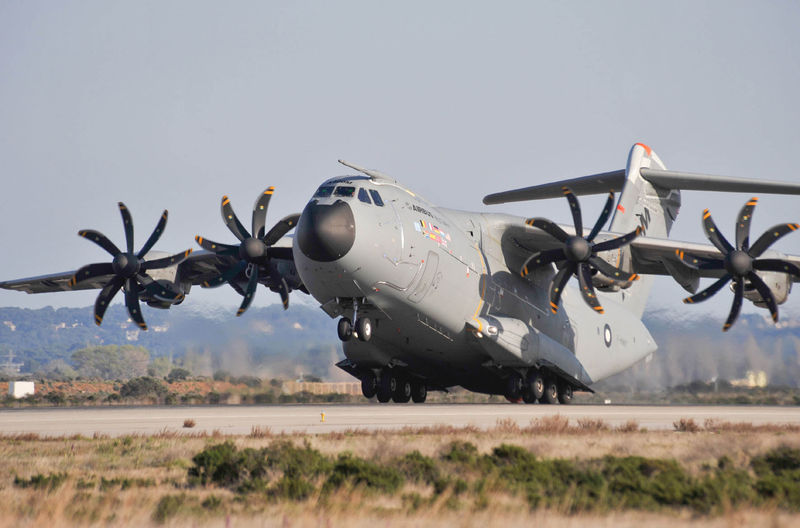 A400M low speed test