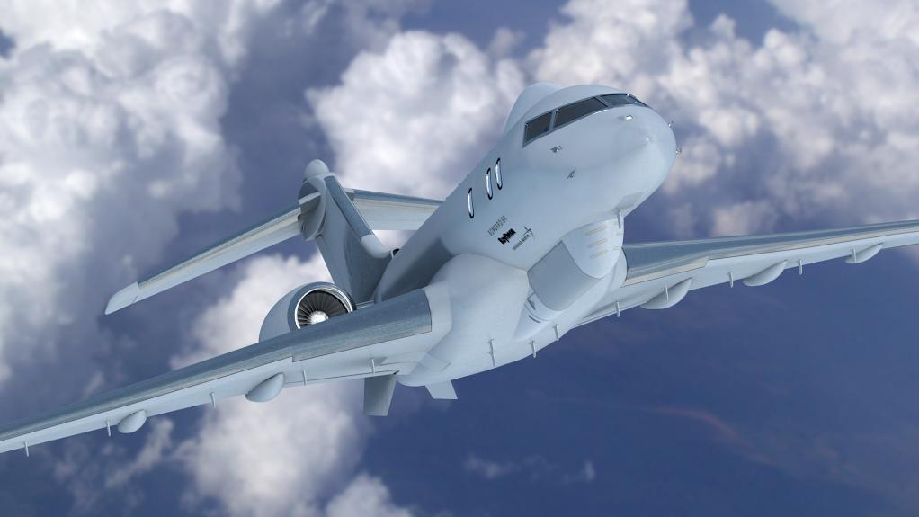 Lockheed JSTARS recp plane