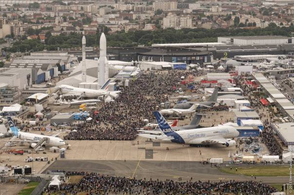Paris Air Show overall