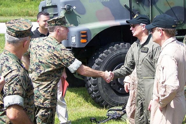 WBJ meeting soldiers