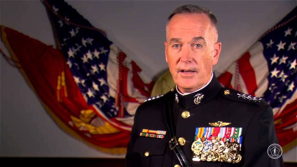 Gen. Joseph Dunford Chairman Joint Chiefs of Staff former Marine Commandant