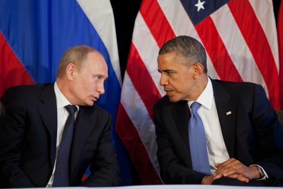 Putin and Obama confer