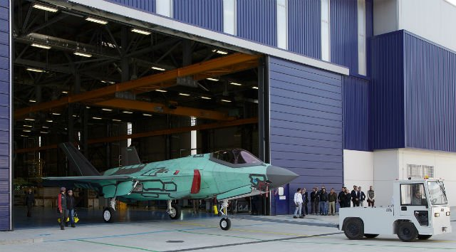 First F-35A made in Italy