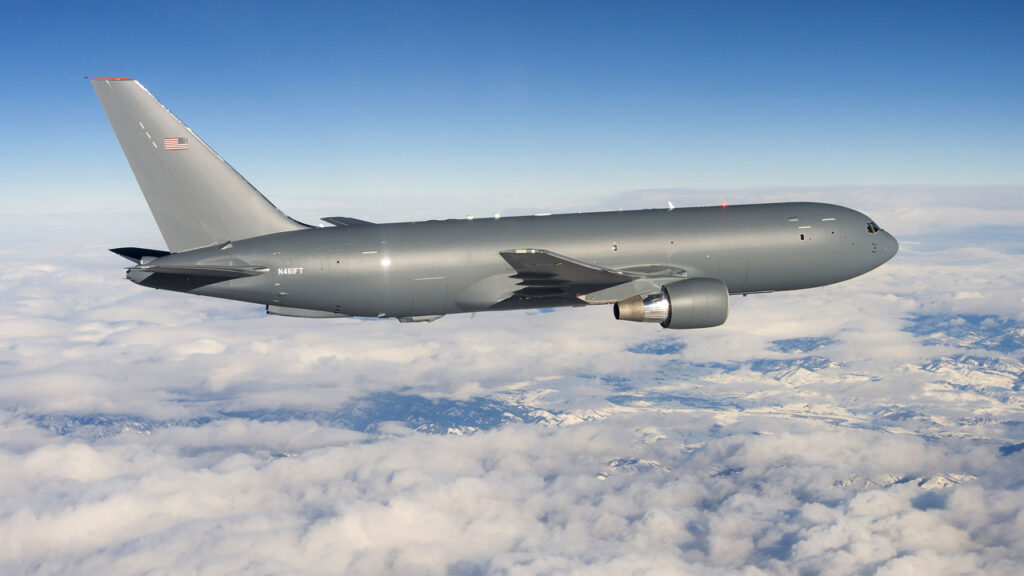 Boeing KC-46 first flight