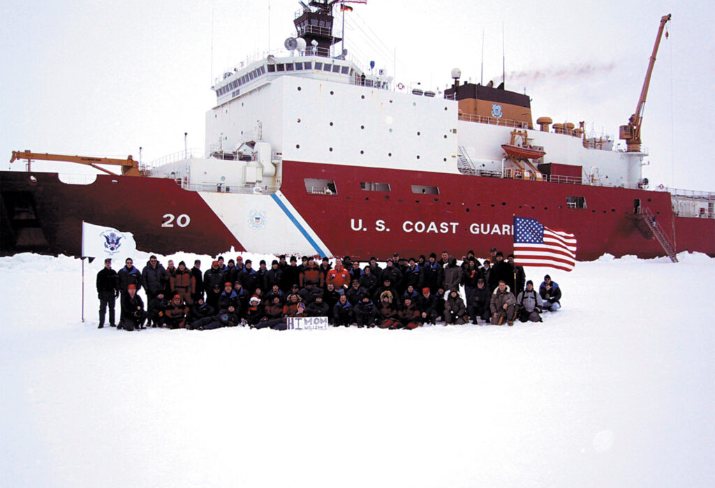 Coast Guard ice breaker Healy
