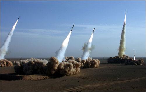 Iranian missile la