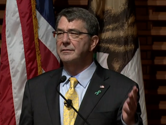 Defense Secretary Ashton Carter in Silicon Valley