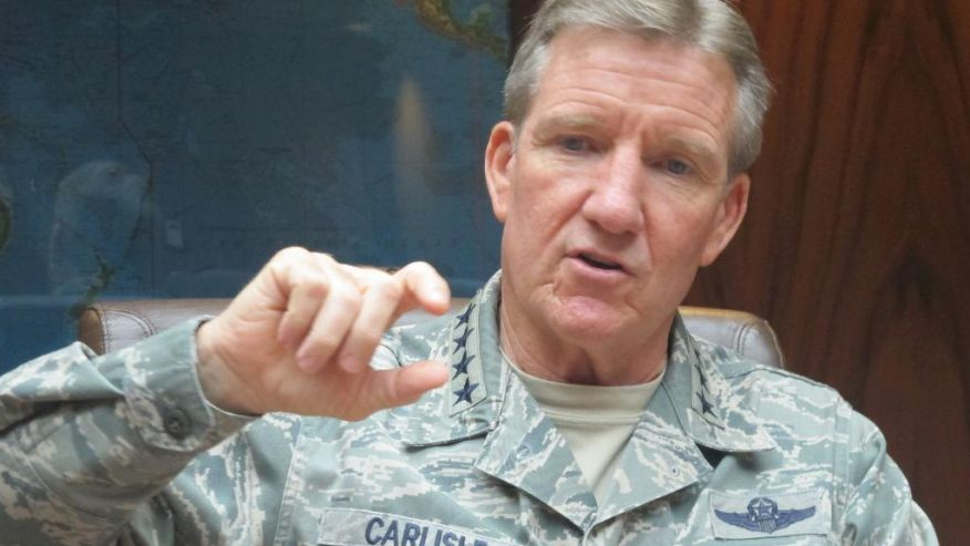 Gen. Hawk Carlisle Air Combat Command