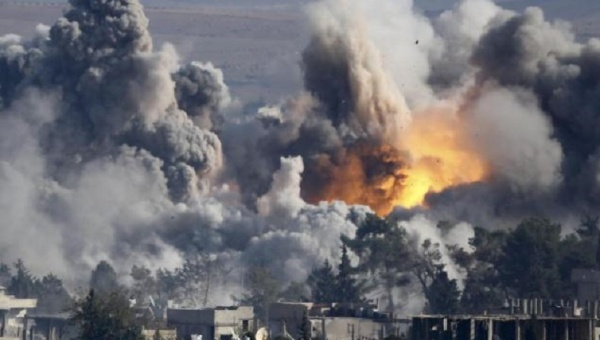 Russia bombs Syrian targets