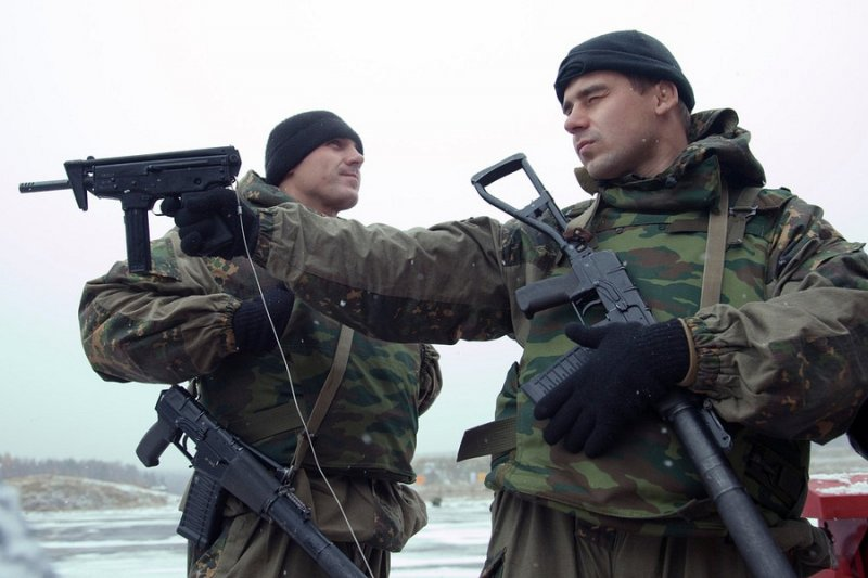 Russian SPETSNAZ Special Forces