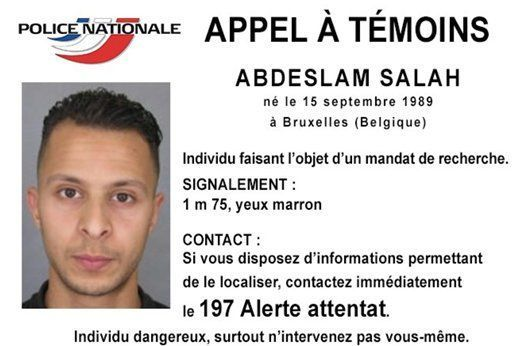 Terror suspect Paris attacks