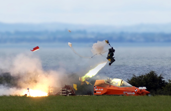 F-35 ejection seat Martin Baker