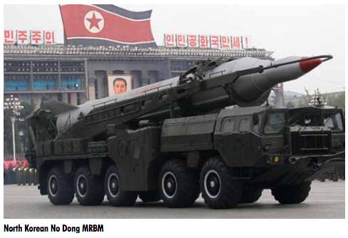 North Korean No Dong Medium-Range Ballistic Missile