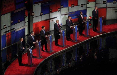 GOP Presidential debate jan 14 2016