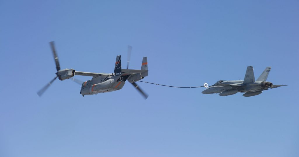 V-22 Refueling Contract Highlights Close Ties To F-35 ...
