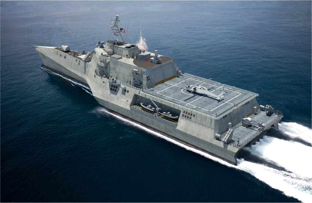 Austal Pushes Big Missiles For Small Ships Lcs Amp Vls