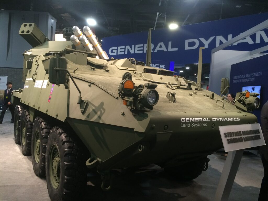 General dynamics strykers take on new targets light armor aircraft breaking defense defense industry news analysis and commentary