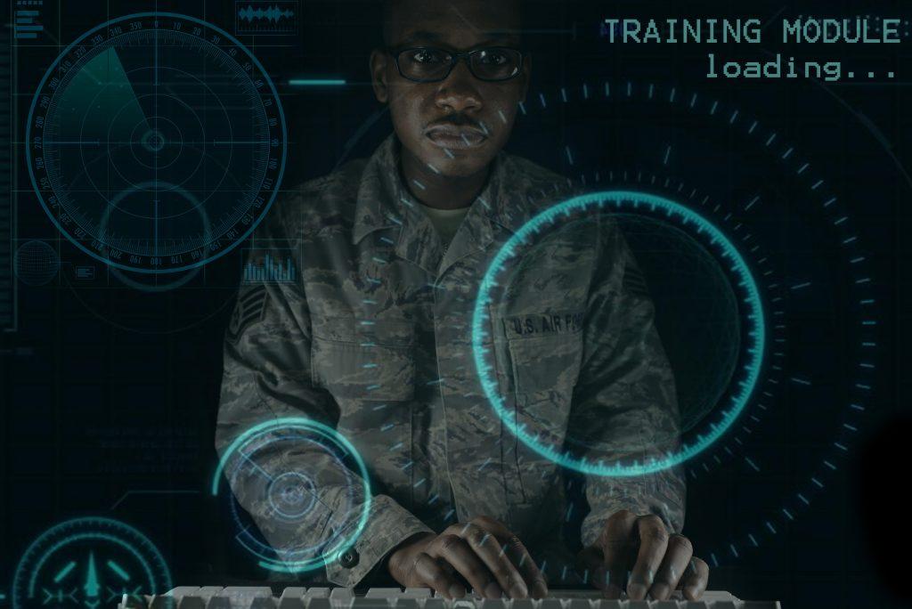 Tech & Military - Magazine cover